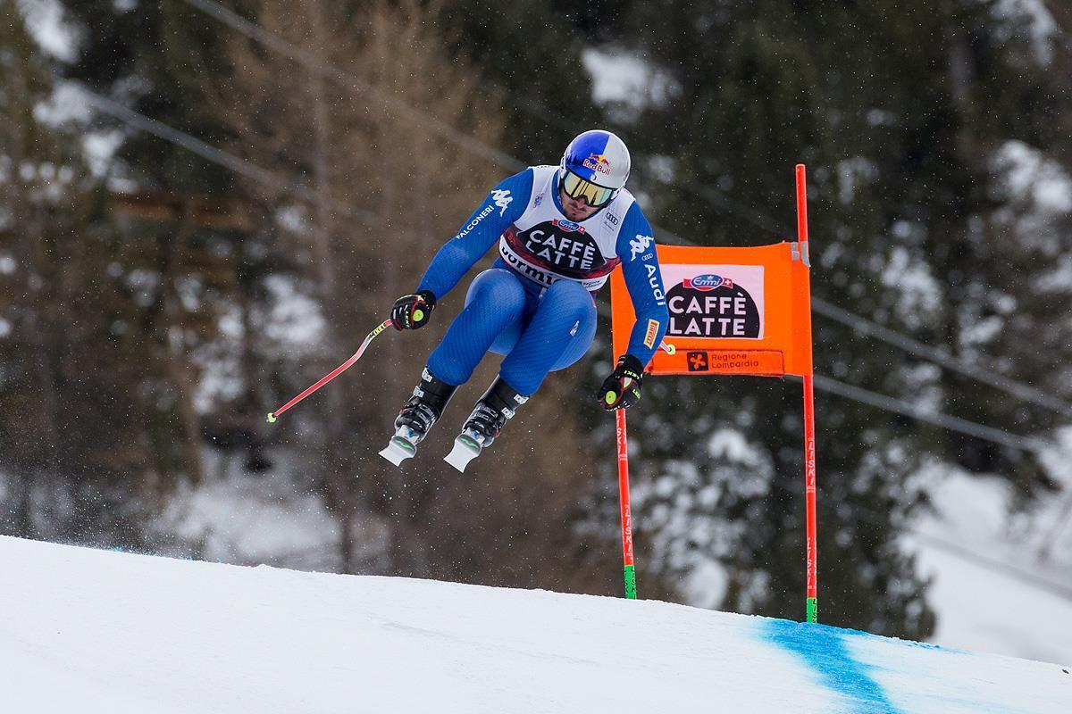 FIS Ski World Cup: Men's Downhill second training