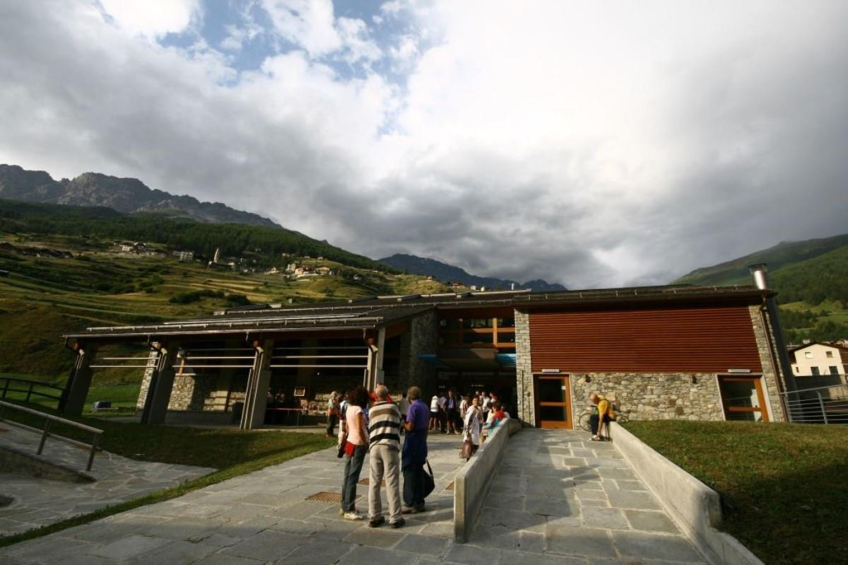 Visitor Centre of the Stelvio National Park