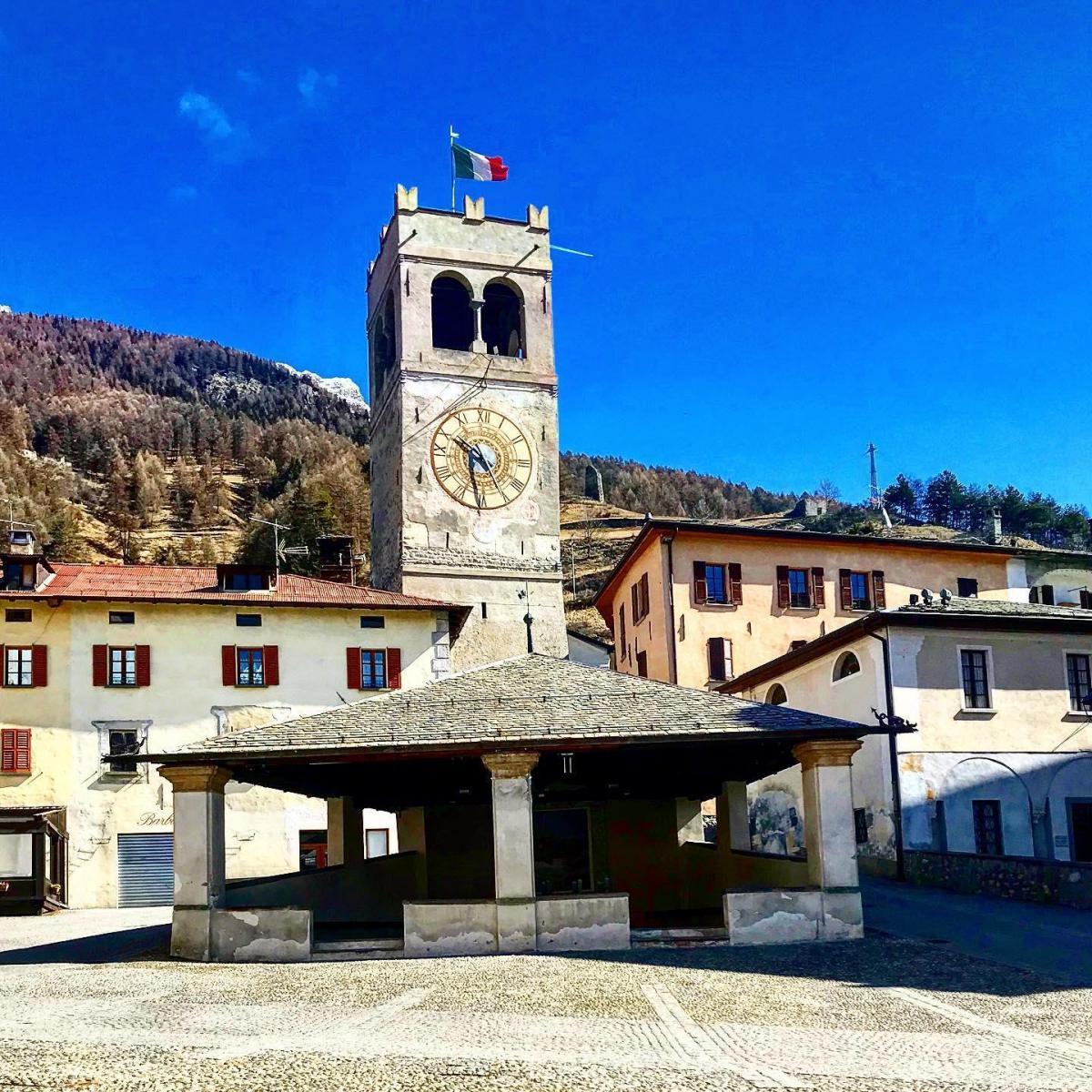 Bormio historical centre