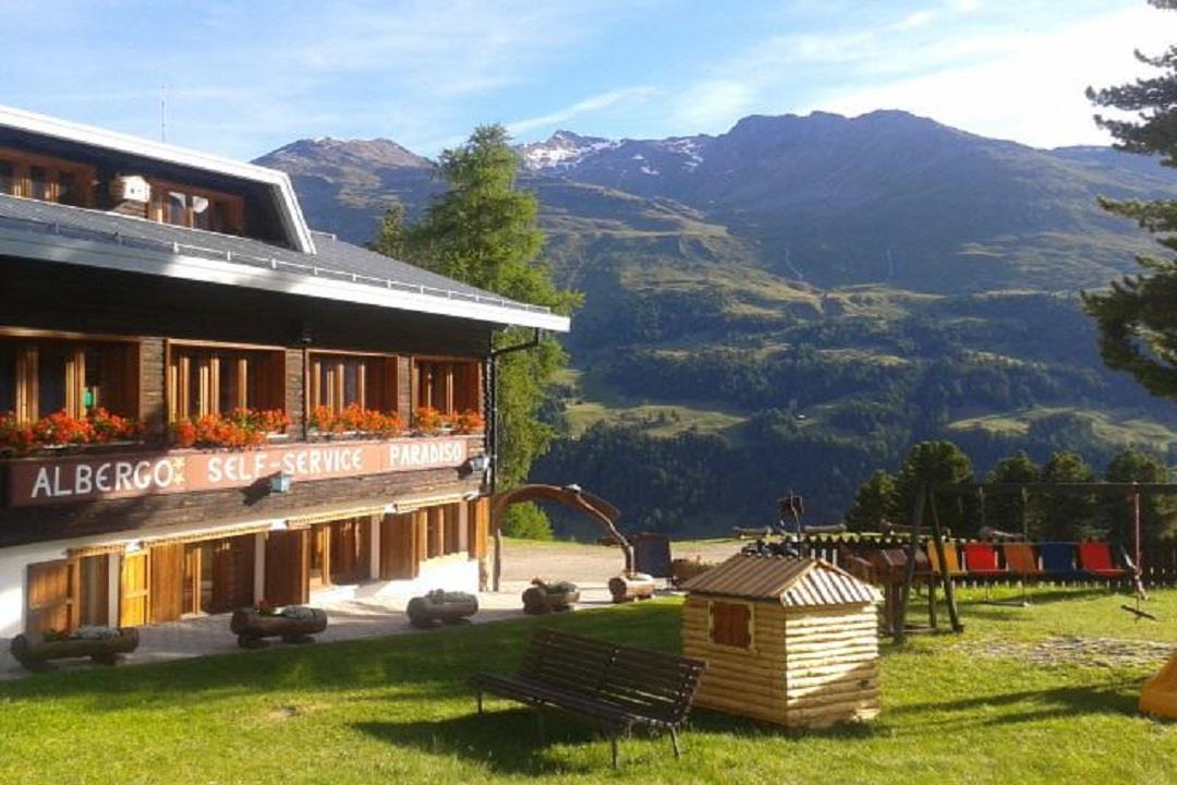 Mountain hut - Hotel Paradiso